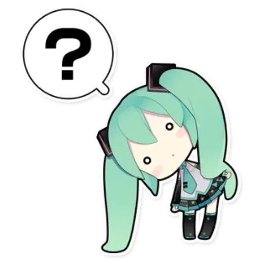 Miku - Sticker 5