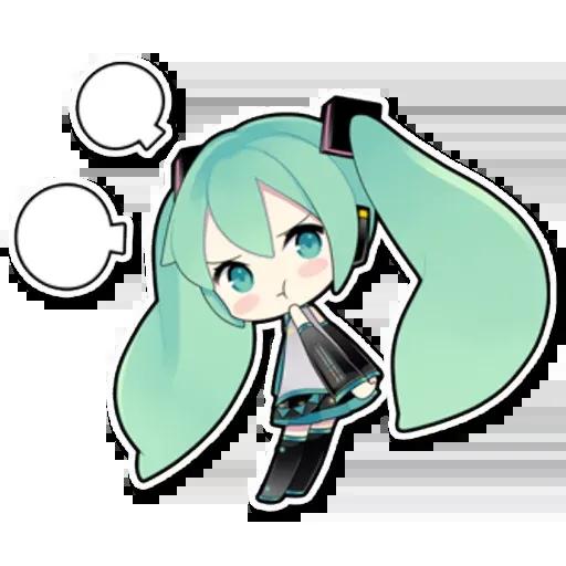 Miku - Sticker 19
