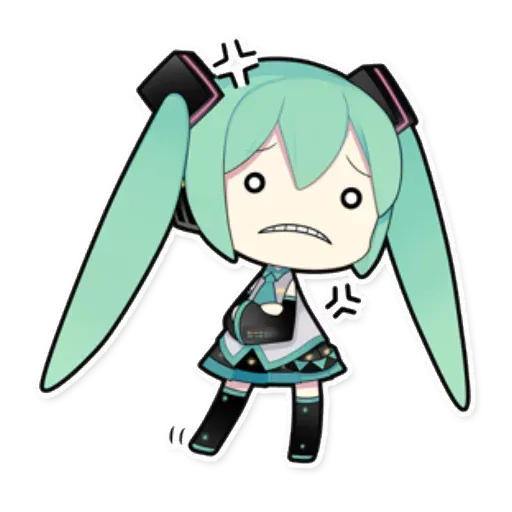 Miku - Sticker 2