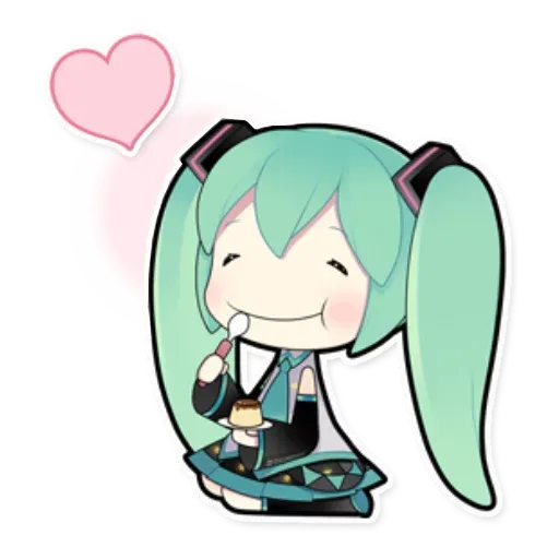 Miku - Sticker 4