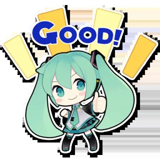 Miku - Sticker 26