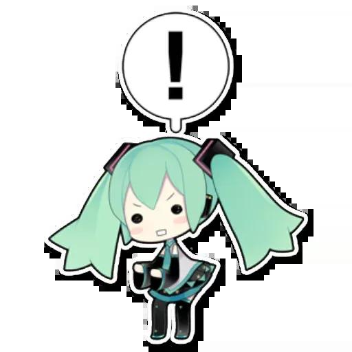 Miku - Sticker 16