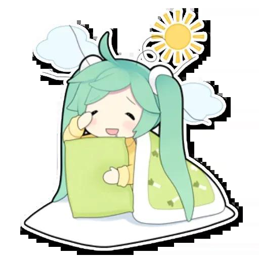 Miku - Sticker 10