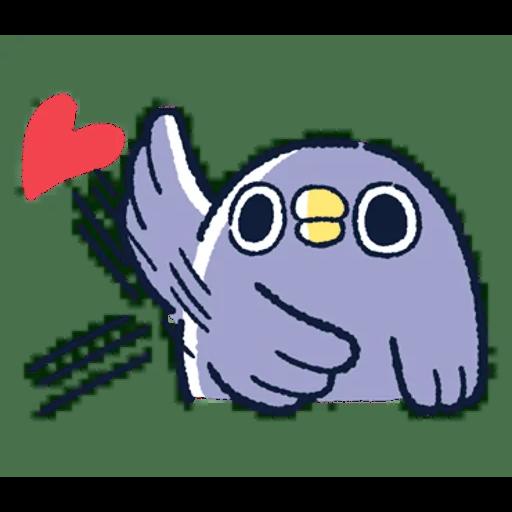 肥企鵝的內心話3 & 4 (2) - Sticker 22