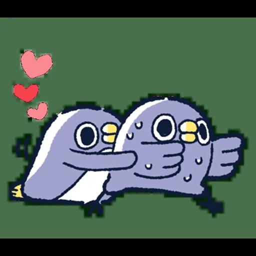 肥企鵝的內心話3 & 4 (2) - Sticker 17