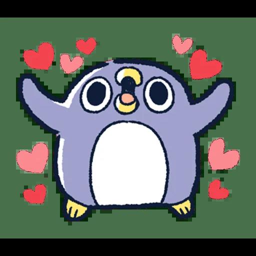 肥企鵝的內心話3 & 4 (2) - Sticker 10