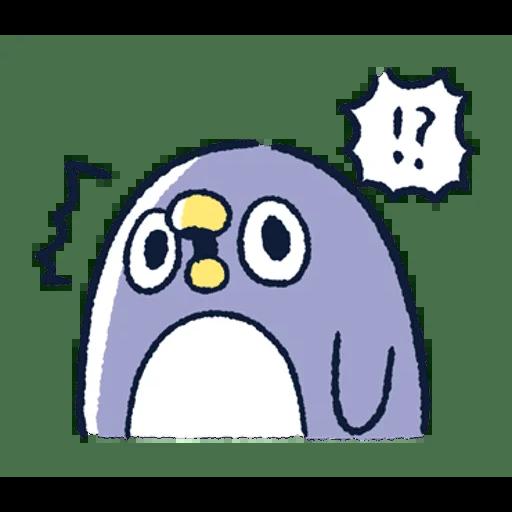 肥企鵝的內心話3 & 4 (2) - Sticker 9