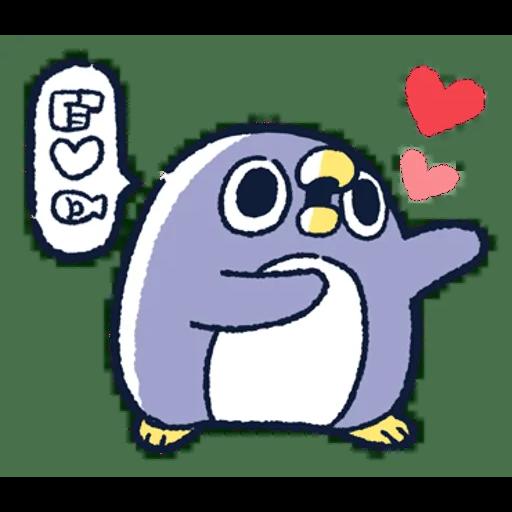 肥企鵝的內心話3 & 4 (2) - Sticker 11