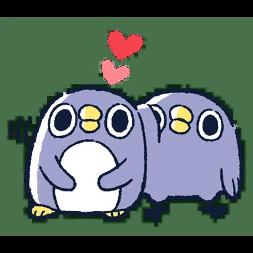 肥企鵝的內心話3 & 4 (2) - Sticker 14