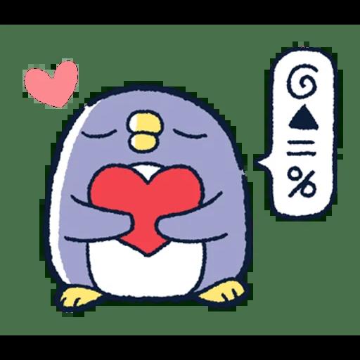 肥企鵝的內心話3 & 4 (2) - Sticker 30