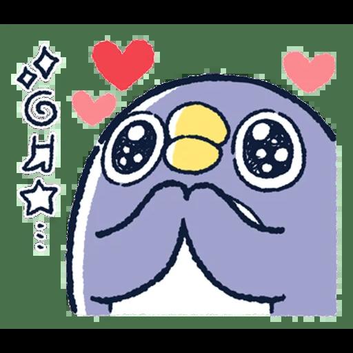 肥企鵝的內心話3 & 4 (2) - Sticker 13