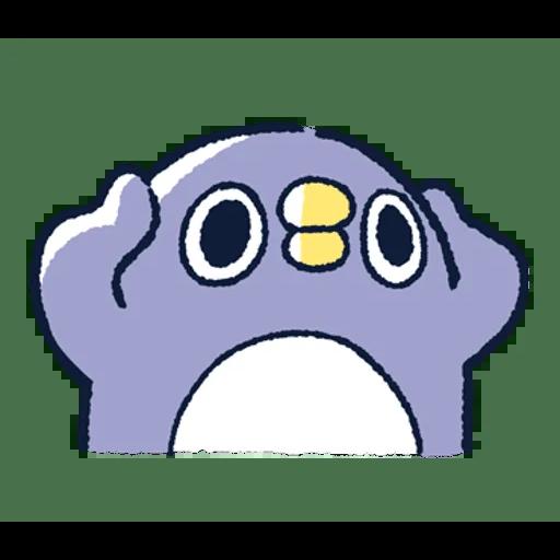 肥企鵝的內心話3 & 4 (2) - Tray Sticker