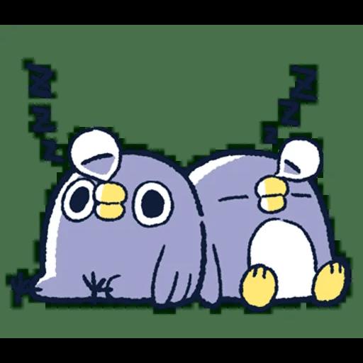 肥企鵝的內心話3 & 4 (2) - Sticker 28