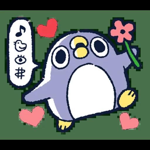 肥企鵝的內心話3 & 4 (2) - Sticker 12