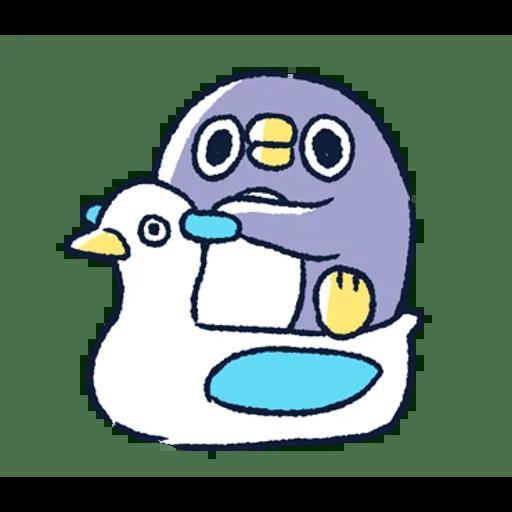 肥企鵝的內心話3 & 4 (2) - Sticker 4