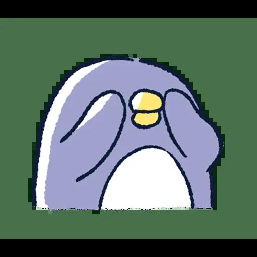 肥企鵝的內心話3 & 4 (2) - Sticker 2