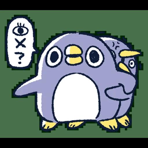 肥企鵝的內心話3 & 4 (2) - Sticker 5