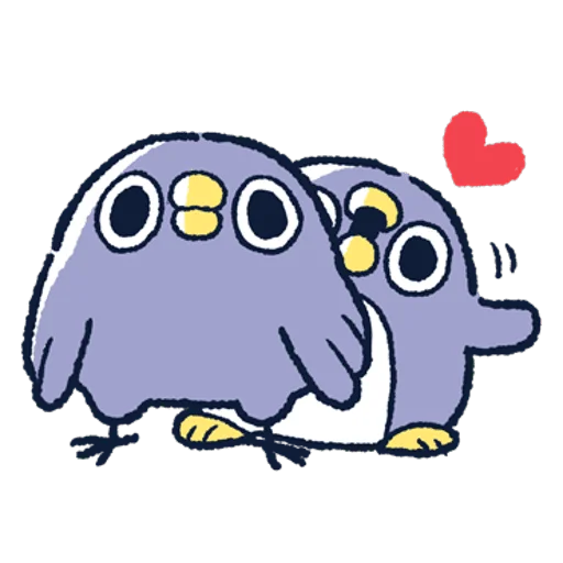 肥企鵝的內心話3 & 4 (2) - Sticker 25