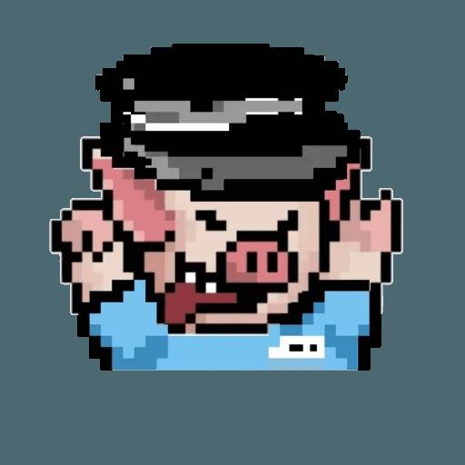 girl lihkg pig - Sticker 3