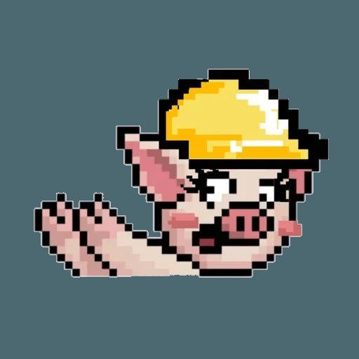girl lihkg pig - Sticker 4