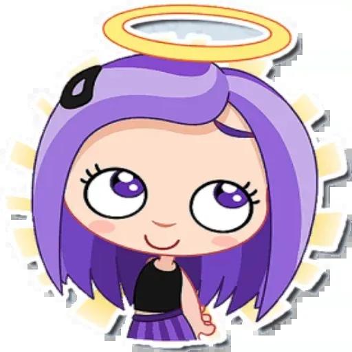 Violet - Sticker 13