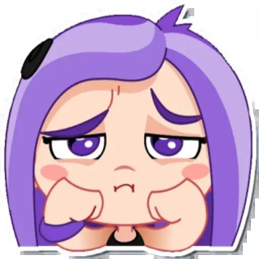 Violet - Sticker 4