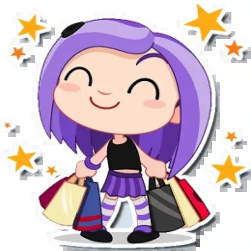 Violet - Sticker 26