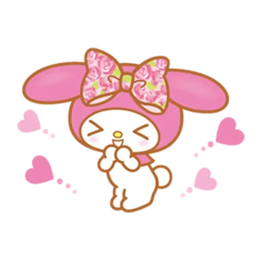 Melody - Sticker 3