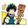 Boku no Hero Academia #4 - Tray Sticker