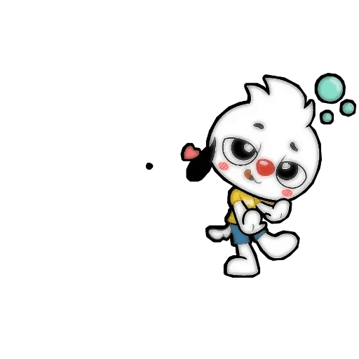 Small dog - Sticker 10