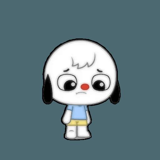 Small dog - Sticker 3