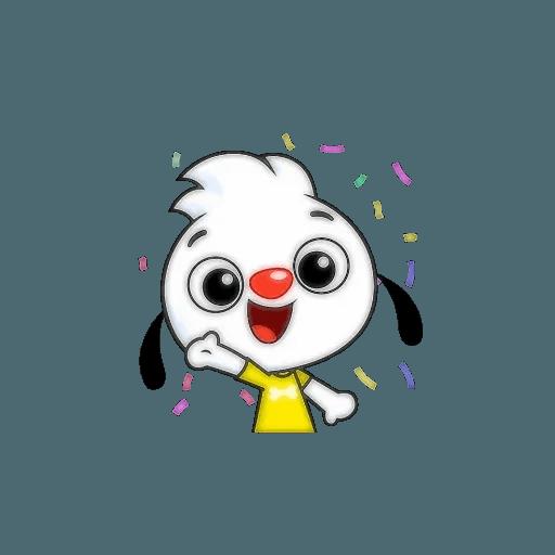 Small dog - Sticker 22