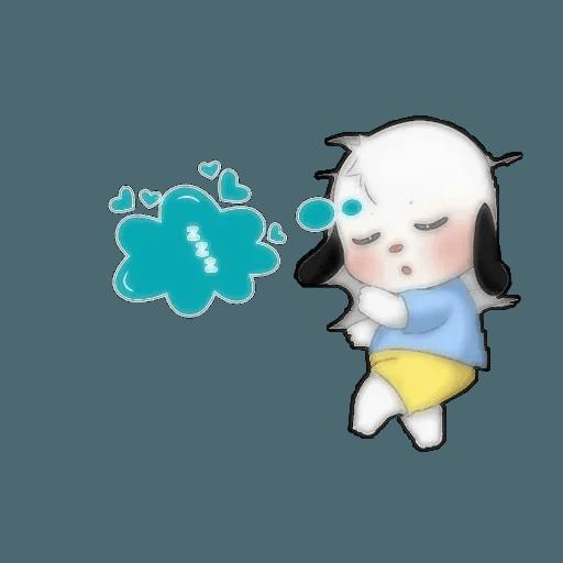 Small dog - Sticker 4