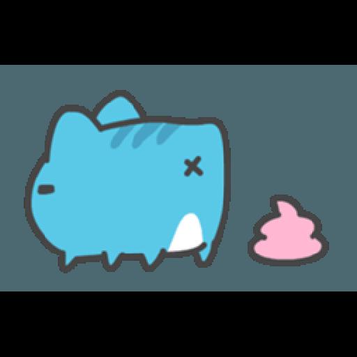貓貓蟲咖波與兔兔-愛閃閃 - Sticker 23