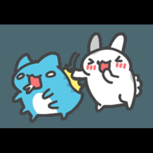 貓貓蟲咖波與兔兔-愛閃閃 - Sticker 18