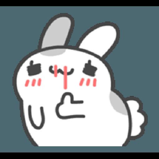 貓貓蟲咖波與兔兔-愛閃閃 - Sticker 1