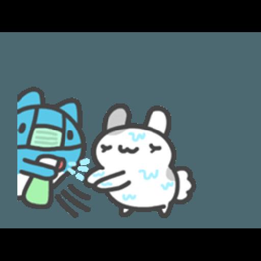 貓貓蟲咖波與兔兔-愛閃閃 - Sticker 12