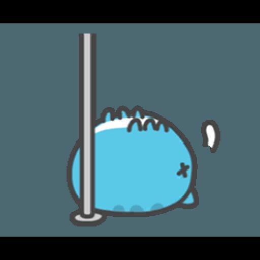 貓貓蟲咖波與兔兔-愛閃閃 - Sticker 20