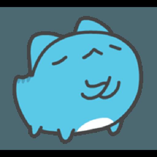 貓貓蟲咖波與兔兔-愛閃閃 - Sticker 5