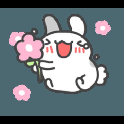 貓貓蟲咖波與兔兔-愛閃閃 - Sticker 22