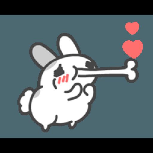 貓貓蟲咖波與兔兔-愛閃閃 - Sticker 19