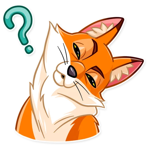 What Does 🔸Foxy🦊 Say❓ - Sticker 12