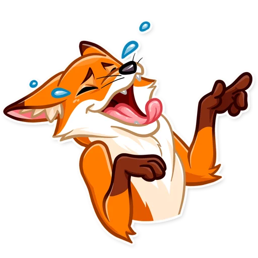 What Does 🔸Foxy🦊 Say❓ - Sticker 2