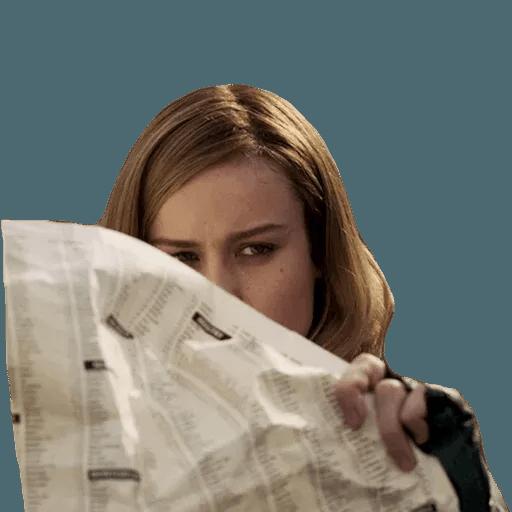 Brie Larson - Sticker 22