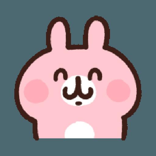 P助兔兔表情貼 4 - Tray Sticker
