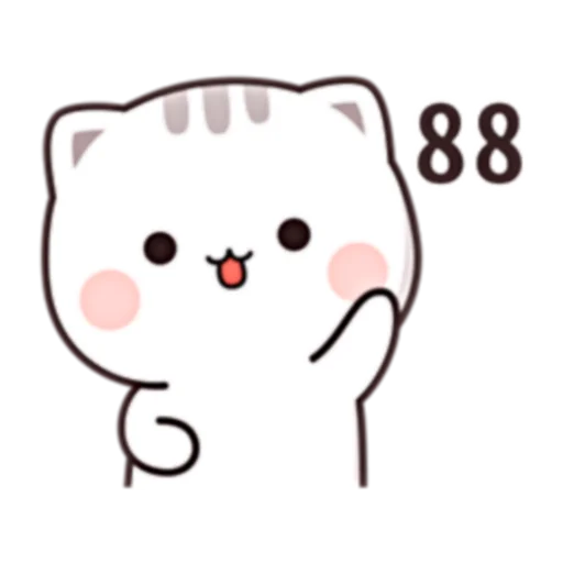 Cutie Cat Chan C1 - Sticker 30