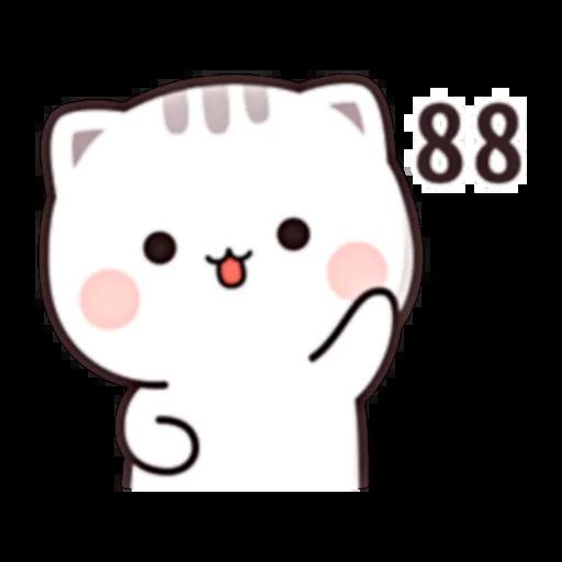 Cutie Cat Chan C1 - Sticker 30