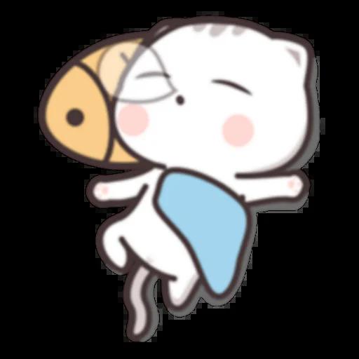 Cutie Cat Chan C1 - Sticker 20