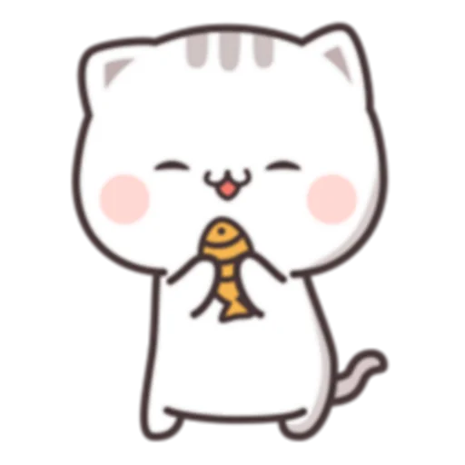 Cutie Cat Chan C1 - Sticker 3