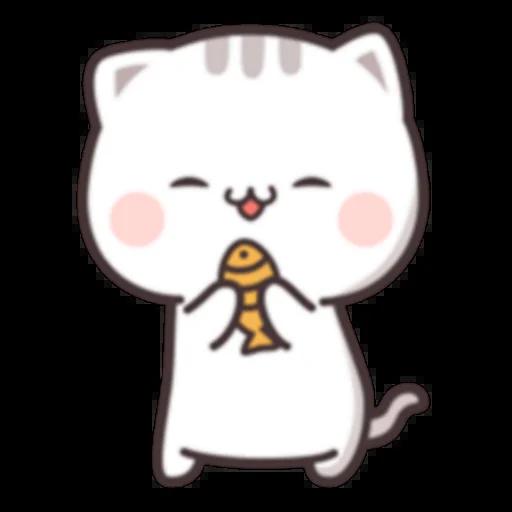 Cutie Cat Chan C1 - Sticker 3